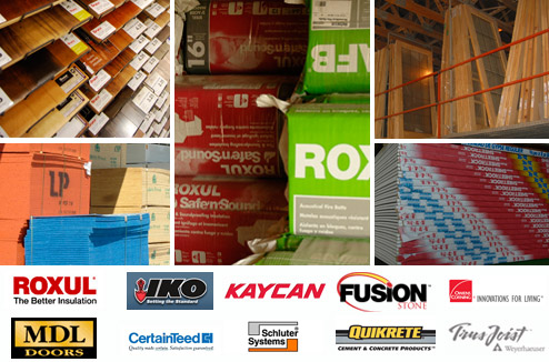 More about our complete Lumber & Building Materials Selection